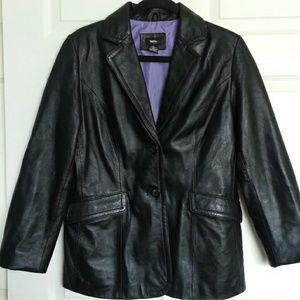 Mossimo 100% Leather Jacket